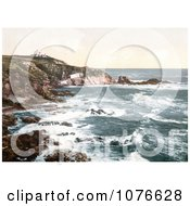 Historical The Lizard Lighthouse At Lizard Point Cornwall England Royalty Free Stock Photography