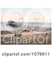 Historical The Pier In Hastings Sussex England Royalty Free Stock Photography
