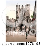 Historical The Punch Bowl Inn Near The Micklegate Bar In York North Yorkshire England Royalty Free Stock Photography by JVPD