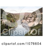 Historical The River Wye In Monsal Dale Water Come Jolly Derbyshire England Royalty Free Stock Photography