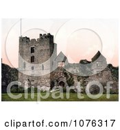 Historical The Ruins Of Ludlow Castle Shropshire England United Kingdom Royalty Free Stock Photography