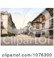 Historical The Seven Stars Hotel On Fore Street Totnes Devon England UK Royalty Free Stock Photography by JVPD