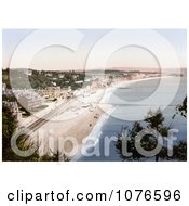 Historical The South Devon Railway Sea Wall And Seafront Buildings In Dawlish Devon England Royalty Free Stock Photography by JVPD