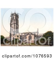 Historical The Tower Of St Johns Church In Glastonbury Somerset England Royalty Free Stock Photography