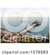 Historical The Victoria Pier At Folkestone Kent England Royalty Free Stock Photography