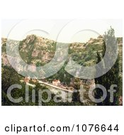Historical The Village Of Cheddar England Somerset United Kingdom Royalty Free Stock Photography