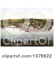 Historical The Village Of Kingswear On The River Dart In South Hams Darmouth Devon England Royalty Free Stock Photography by JVPD