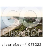 Historical Totland On The Colwell Bay Isle Of Wight England Royalty Free Stock Photography