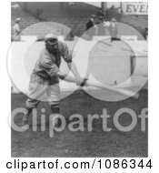 Honus Wagner Of The Pittsburgh Pirates Swinging A Baseball Bat Free Historical Baseball Stock Photography by JVPD