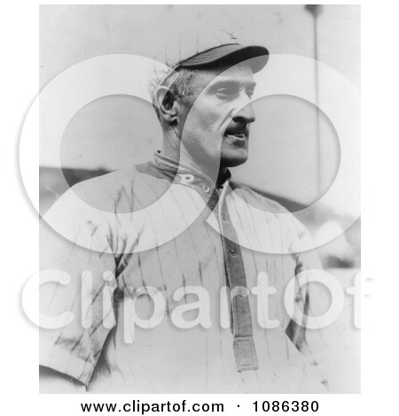 Honus Wagner, Pittsburgh Pirates Baseball Shortstop in 1913 - Free Historical Baseball Stock Photography by JVPD