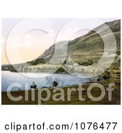 Howtown Bay On Ullswater Lake Lake District England United Kingdom Royalty Free Stock Photography