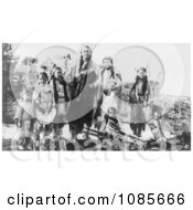 Hunting Horse And Daughters Kiowa Indians Free Historical Stock Photography