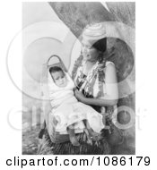 Hupa Mother Free Historical Stock Photography by JVPD