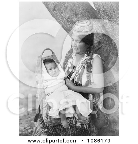 Hupa Mother - Free Historical Stock Photography by JVPD