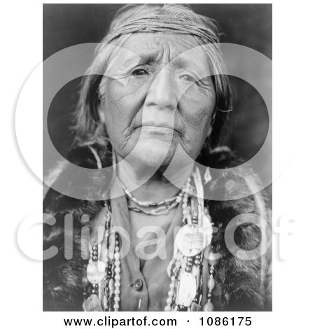 Hupa Woman - Free Historical Stock Photography by JVPD