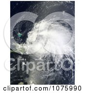 Hurricane Irene Over Dominican Republic And Puerto Rico On August 22 2011 Royalty Free Stock Photography