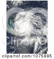 Hurricane Irene Over The Turks And Caicos Islands On August 24th 2011 Royalty Free Stock Photography