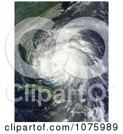 Hurricane Irene Passing Over The Bahamas August 25 2011 Royalty Free Stock Photography