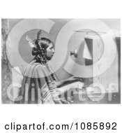 Indian Telephone Operator Free Historical Stock Photography