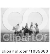 Indians On Horses Free Historical Stock Photography