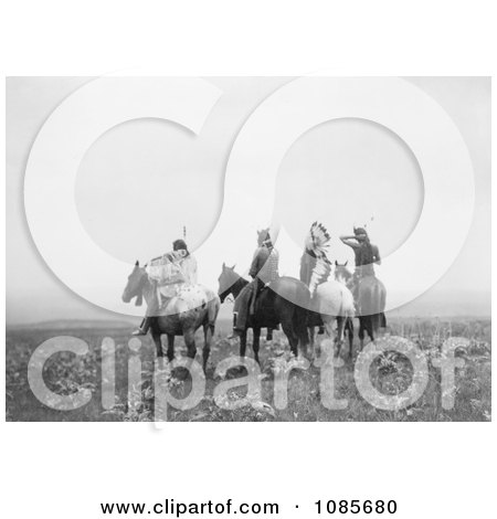 Indians on Horses - Free Historical Stock Photography by JVPD