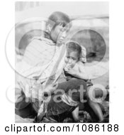 Inuit Eskimo Mother Breast Feeding Free Historical Stock Photography