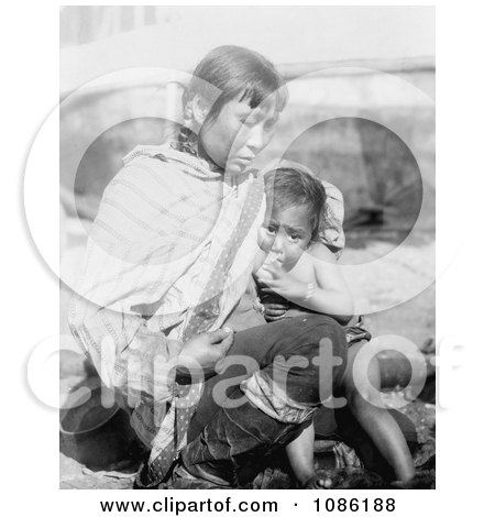 Inuit Eskimo Mother Breast Feeding - Free Historical Stock Photography by JVPD