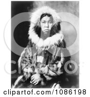Inuit Eskimo Portrait Free Historical Stock Photography by JVPD