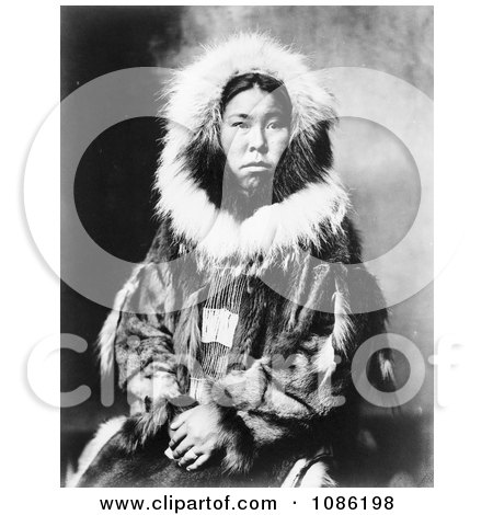 Inuit Eskimo Portrait - Free Historical Stock Photography by JVPD