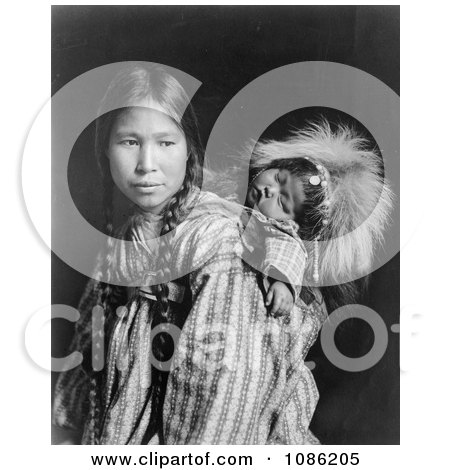 Inuit Mother - Free Historical Stock Photography by JVPD