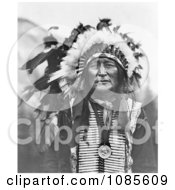 Iron Shell Lakota Sioux Indian Free Historical Stock Photography