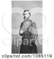Jefferson Davis In Military Uniform Free Stock Photography