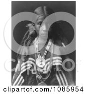 Jicarilla Apache Girl Free Historical Stock Photography by JVPD