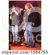 John Popper And Jamie ONeal Free Stock Photography