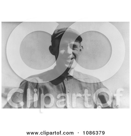 Johnny Evers, MLB Player For the Chicago Cubs, in a Baseball Cap - Free Historical Baseball Stock Photography by JVPD