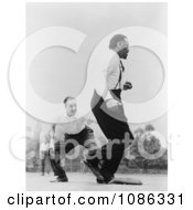 Jose Ferrer And Paul Robeson Playing Baseball Free Historical Baseball Stock Photography