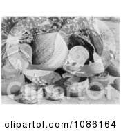 Karok Baskets Free Historical Stock Photography by JVPD