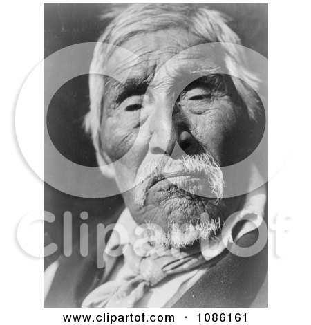 Karok Native American Man - Free Historical Stock Photography by JVPD