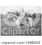 Kate The Wasco Rider Free Historical Stock Photography by JVPD