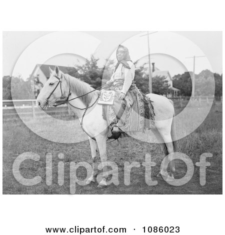 Kate the Wasco Rider - Free Historical Stock Photography by JVPD