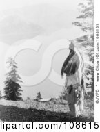 Klamath Indian Chief At Crater Lake Free Historical Stock Photography