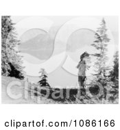 Klamath Indian Chief At Crater Lake Free Historical Stock Photography by JVPD