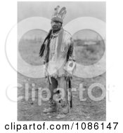 Klamath Indian Man In Costume Free Historical Stock Photography by JVPD