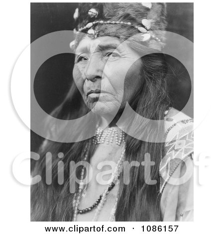 Klamath Woman - Free Historical Stock Photography by JVPD