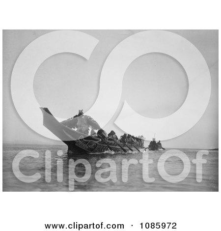 Kwakiutl Wedding Canoes - Free Historical Stock Photography by JVPD