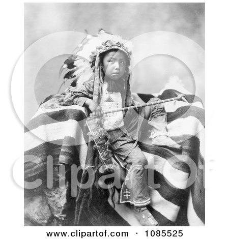 Lakota Indian, Joseph Bird Head - Free Historical Stock Photography by JVPD