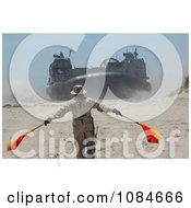 Landing Craft Air Cushion Free Stock Photography