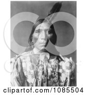 Little Hawk A Brule American Indian Free Historical Stock Photography by JVPD