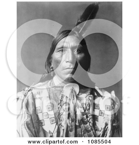 Little Hawk, a Brule American Indian - Free Historical Stock Photography by JVPD