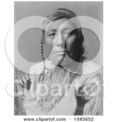 Long Time Dog, a Hidatsa Native American - Free Historical Stock Photography by JVPD